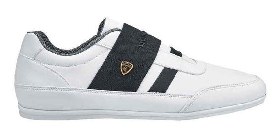 Tenis Casuales Lamborghini 7675 Id 829623 Blanco Hombre