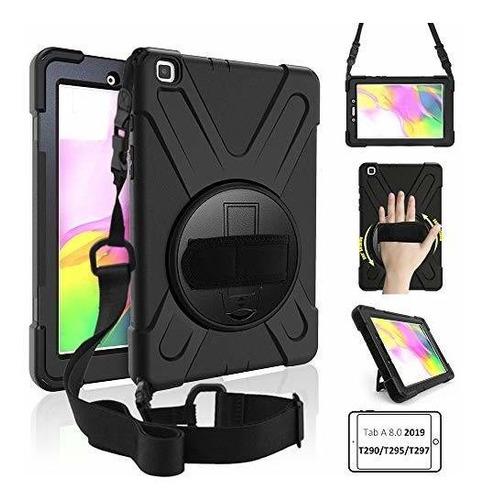 Funda Galaxy Tab A 8.0 Case 2019, Soporte Giratorio De 360 R