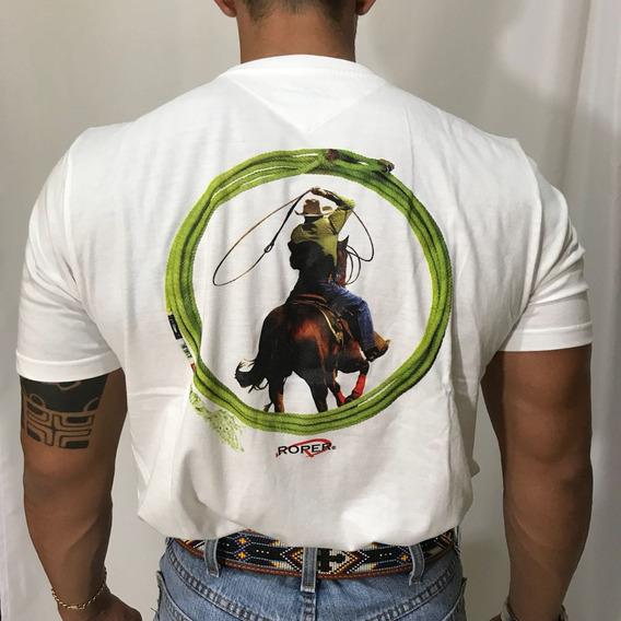 Camiseta Country Lançamento Team Roper Laço Em Dupla Cpld