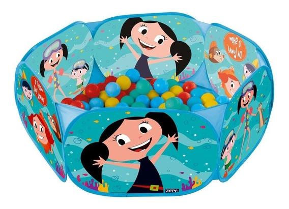 Brinquedo Piscina Infantil Menina Show De Luna 100 Bolinhas