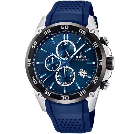 Reloj Festina Original F20330/2 Azul