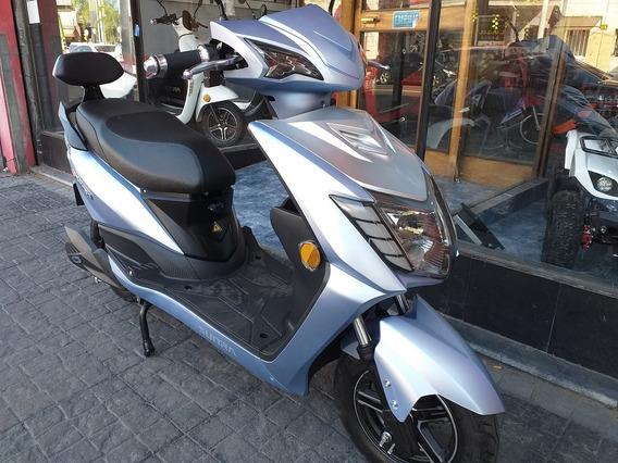 Scooter Electrico Sunra Leo Batería Gel Ciclomotor