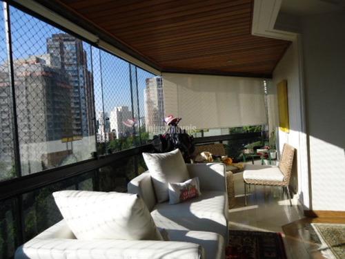 Apartamento  4 Dormitórios 3 Suites  4 Vagas E Depósito No Morumbi!!! - Pp9723
