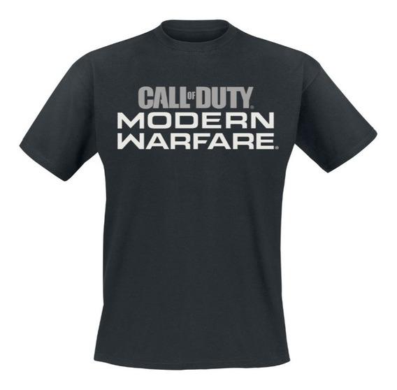 Remera Call Of Duty Modern Warfare Orig Activision Importada