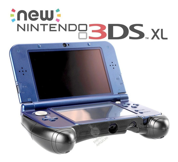 Hand Grip Case De Mão Stand Para Nintendo New 3ds Xl Nfe