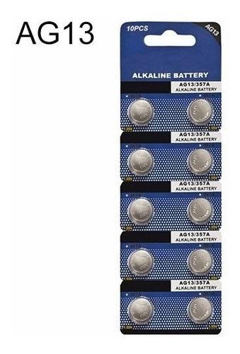 10x Baterías Ag13 Lr44 1.5v Alcalina Termómetro