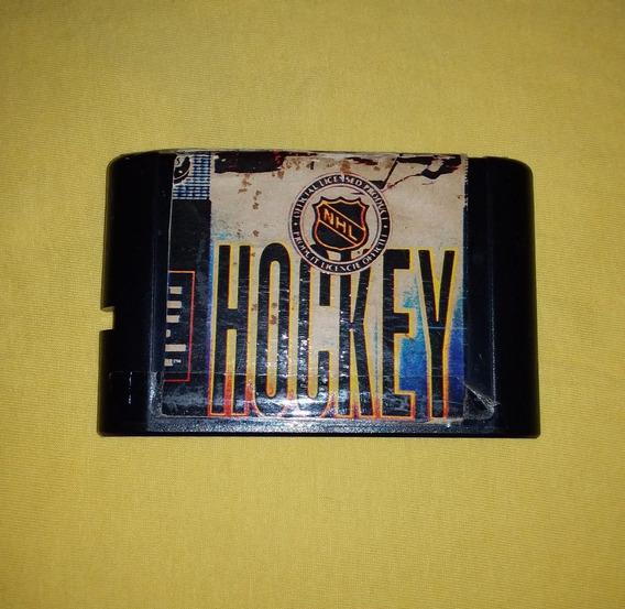 Hockey Mega Drive 3 Raro Funcionando 100%