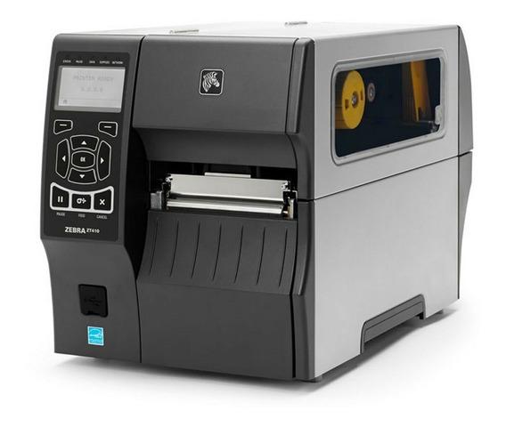 Impressora Zebra Zt410 300 Dpi Usb Rede Serial Bluetooth