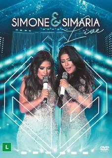 Simone & Simaria Live - Dvd Sertanejo