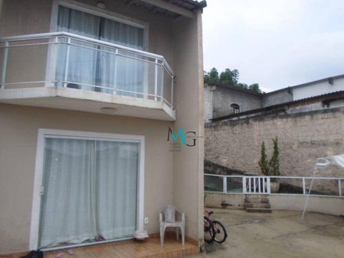 Imagem 1 de 17 de Casa Com 2 Dormitórios À Venda, 80 M² Por R$ 299.900,00 - Campo Grande - Rio De Janeiro/rj - Ca0736