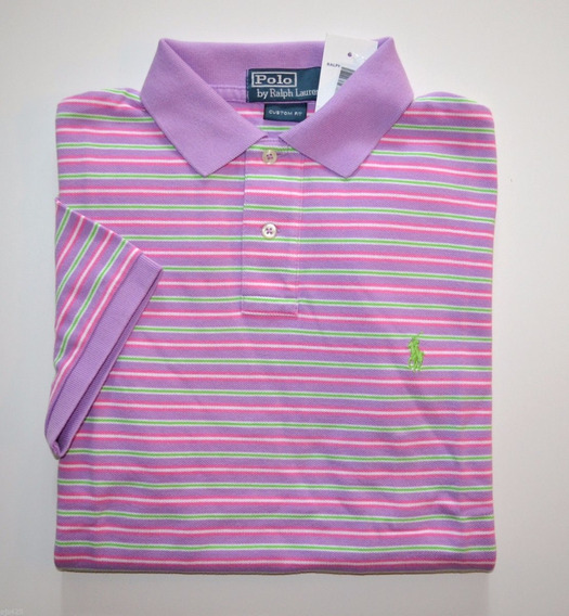 Camisa Polo Ralph Lauren Tamanho P / S Original Custom Fit