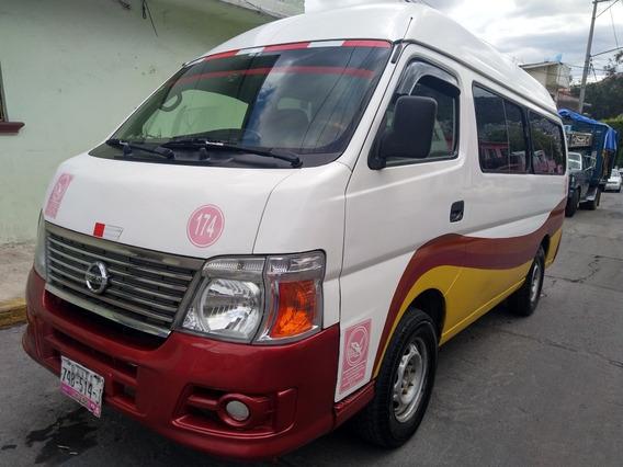 Nissan Urvan 2.5 Panel Vidrio Toldo Alto 4p Mt 2011