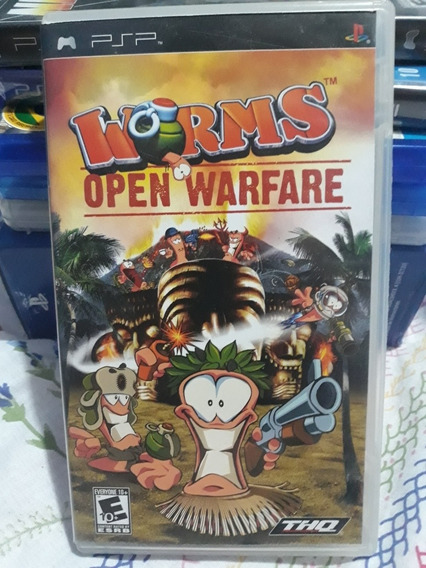 Worms Open Warfare Jogo Para Psp ( Playstation Portátil )
