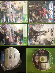 Lote Jogos Para Xbox360 One Ps4