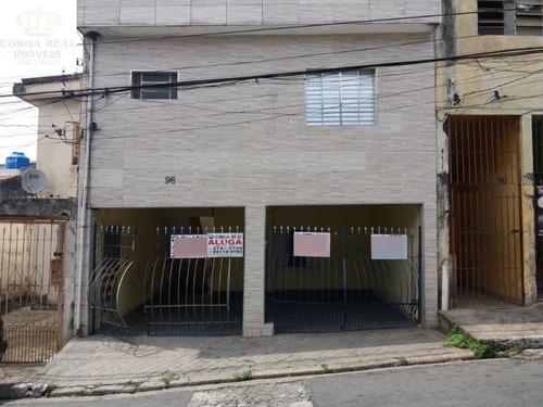 Imagem 1 de 24 de Casa De Fundos Vila Talarico Para Locação E Venda. - Ca00493 - 68666030