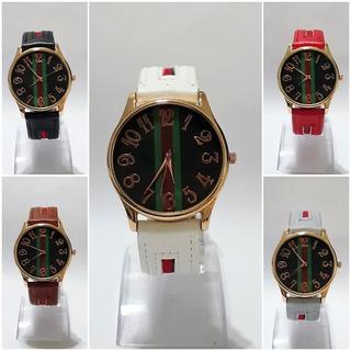 Relojes Pulsera Nuevo Modelo Marco Grande Malla Combinada Por 10 Unidades Colores Surtidos !