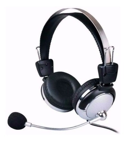 Fone De Ouvido Headset Microfone Headphone P2 Lan House Pc