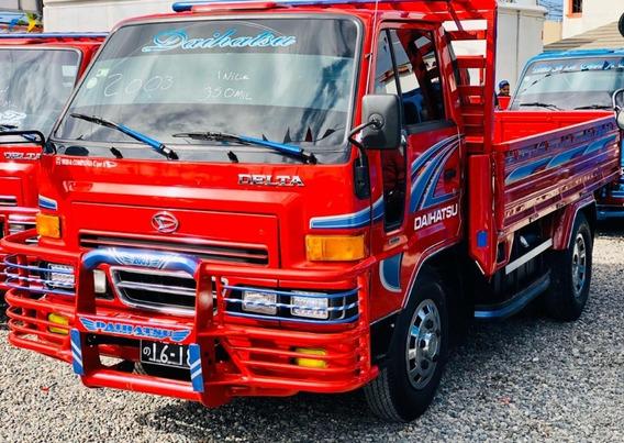 Super Oferta Camion Daihatsu Delta 2003 Cama Cortta 100%full