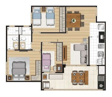 Imagem 1 de 13 de Apartamento - Ref: 4139