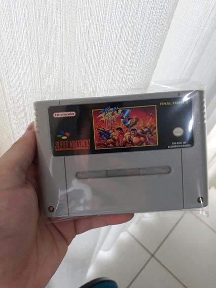 Fitas De Super Nintendo Final Fighter 3