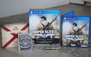 Sniper Elite 3 Collector´s Edition Ps4 Nuevo Y Sellado