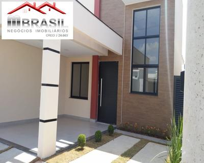 Casa Nova, Jardim Park Real, Indaiatuba, Sp - Ca04925 - 33289378
