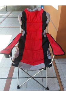 Sillon Reposera Camping Waterdog Outdoor Plegable Acolchado