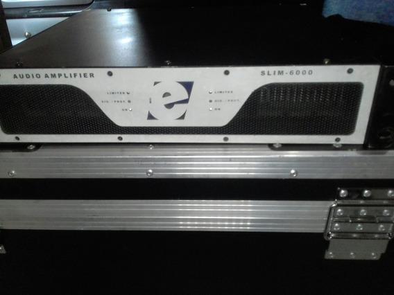 Amplificador Etelj 6.000 Whats Rms