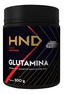 Glutamina 300g Cada Recuperação Do Treino Energia Força Hnd