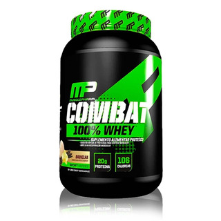 100% Whey Combat Mp Musclepharm 907g Original Nacional