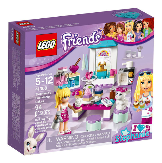 Lego Friends Stephanies Friendship Cakes Mod. 41308
