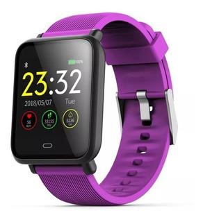 Smartwatch Q9 - Tela Ip67/batimento/pressão + 2 Pulseiras