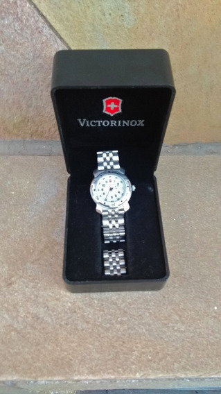 Relogio Victorinox Swiss Army Stainless Steel Power Lady
