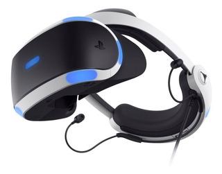 Lentes Realidad Virtual Ps4 Gamer Vr Sony Bluetooth - Otec