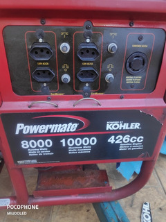 Gerador Powermate 8000/10000