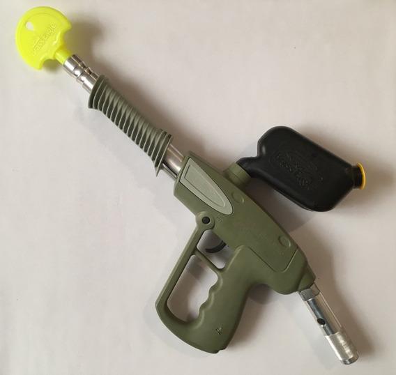 Pistola Gotcha Retro Tipo Pump Gun Saber Brass Eagle Año1999