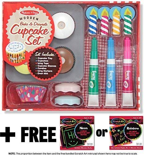 Hornee Y Decore Cupcake Set - Juegue Set De Alimentos Free M