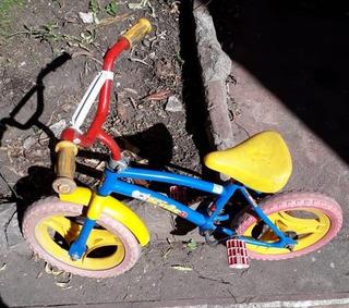 Bicicleta Rodado 12 Para Niños