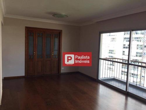 Apartamento Com 4 Dormitórios À Venda, 135 M²  - Campo Belo - São Paulo/sp - Ap27018
