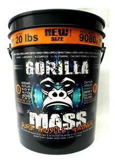 Gorilla Mass 20lb + Maleta Obse