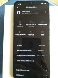 Redmi Note 7 64 Rom 6 Ram Desbloqueado