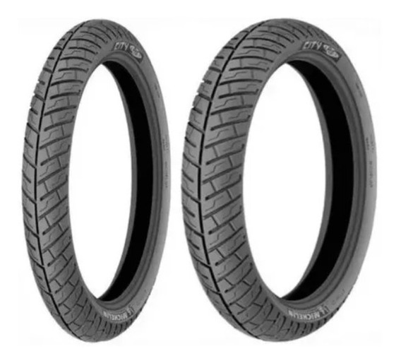 Par Pneu 2.75-18 + 90/90-18 Michelin City Pro Titan 150 Ybr