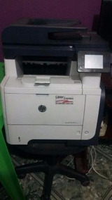 Impressora Multifuncional Hp Laserjet Pro M521dn