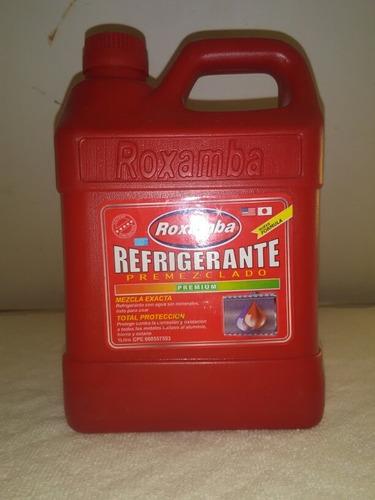 Refrigerante Para Carro Presentacion De Litro Color Rojo