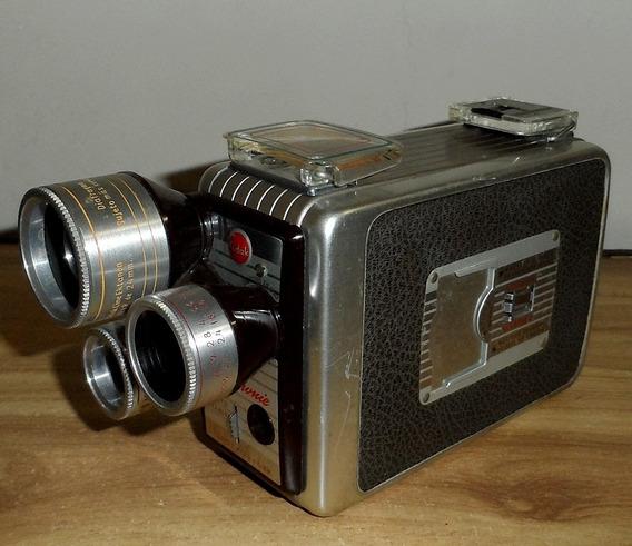 Camara 8 Mm Kodak Borwnie Con Manual Original