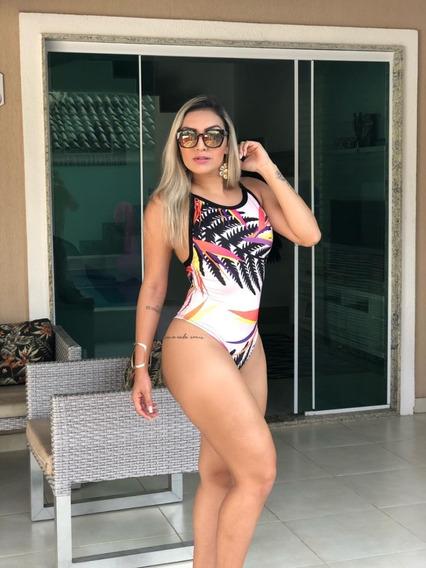 Body Bori Maiô Feminino Cavado Profundo Juju Regata Ref 62