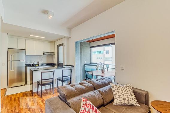 Apartamento Para Aluguel - Itaim Bibi, 1 Quarto, 50 - 893093804