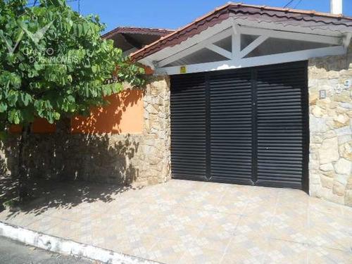 Casa Com 3 Dorms, Canto Do Forte, Praia Grande - R$ 880 Mil, Cod: 59 - V59