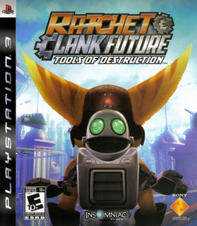 Ratchet N Clank Future Tools Of Destruction Ps3 Seminuevo