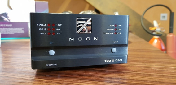 Dac Simaudio Moon 100d Conversor Digital Analógico High End